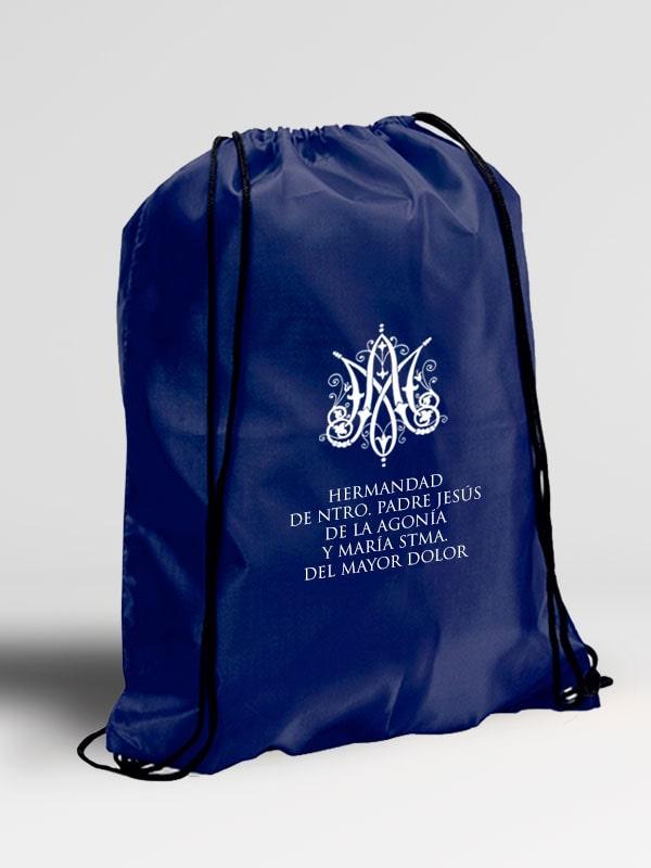 mochila con cuerdas